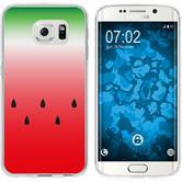 Samsung Galaxy S6 Edge Silikon-Hülle Sommer  M5