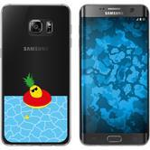 Samsung Galaxy S7 Edge Silikon-Hülle Sommer  M2
