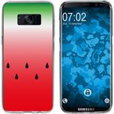 Samsung Galaxy S8 Plus Silicone Case summer M5