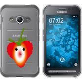 Samsung Galaxy Xcover 3 Silikon-Hülle Sommer  M4