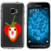 Samsung Galaxy Xcover 4 Silikon-Hülle Sommer  M4
