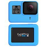 PhoneNatic GoPro Hero 5 Hülle Silikon Blau - Case GoPro Hero 5Tasche + Objektivabdeckung