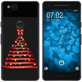 Google Pixel 2 Silikon-Hülle X Mas Weihnachten  M1