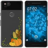 Google Pixel 2 Silicone Case autumn M5
