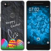 Google Pixel 2 Silicone Case Easter M6