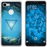 Google Pixel 3 Silicone Case Element water M4