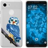 Google Pixel 3 Silicone Case vector animals M1