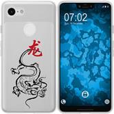 Google Pixel 3 XL Silicone Case Chinese Zodiac M5