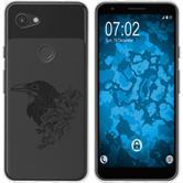Google Pixel 3a Silicone Case floral M4-1