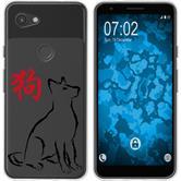 Google Pixel 3a Silikon-Hülle Tierkreis Chinesisch  M11