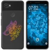 Google Pixel 3a XL Silicone Case floral M3-3