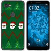 Google Pixel 3a Silicone Case Christmas X Mas M7