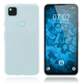 Silicone Case Pixel 4a crystal-case Crystal Clear Cover