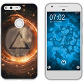 Google Pixel Silicone Case Element fire M3