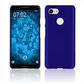 Hardcase Pixel 3 rubberized blue Case