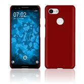 Hardcase Pixel 3 rubberized red Case