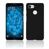 Hardcase Pixel 3 rubberized black Case