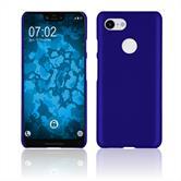 Hardcase Pixel 3 XL rubberized blue Case