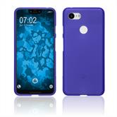 Silicone Case Pixel 3 XL matt purple Case