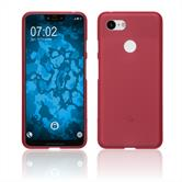 Silicone Case Pixel 3 XL matt red Case