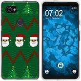 Google Pixel 2 XL Silicone Case Christmas X Mas M7