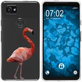 Google Pixel 2 XL Silicone Case vector animals M2