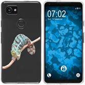 Google Pixel 2 XL Silicone Case vector animals M7