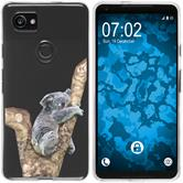 Google Pixel 2 XL Silicone Case vector animals M9