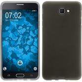 Silicone Case Galaxy J7 Prime  black + protective foils