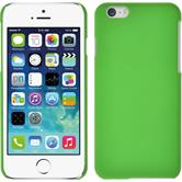 Hardcase for Apple iPhone 6 rubberized green