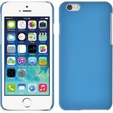 Hardcase for Apple iPhone 6 rubberized light blue