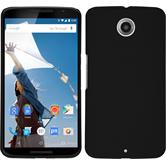 Hardcase for Google Motorola Nexus 6 rubberized black