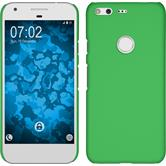 Hardcase for Google Pixel rubberized green