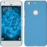 Hardcase for Google Pixel rubberized light blue