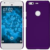 Hardcase for Google Pixel rubberized purple