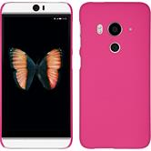 Hardcase for HTC Butterfly 3 rubberized pink