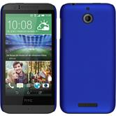 Hardcase for HTC Desire 510 rubberized blue