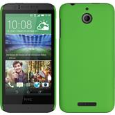 Hardcase for HTC Desire 510 rubberized green