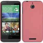 Hardcase for HTC Desire 510 rubberized pink