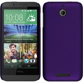 Hardcase for HTC Desire 510 rubberized purple