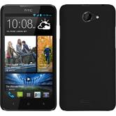 Hardcase for HTC Desire 516 rubberized black