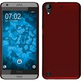 Hardcase for HTC Desire 530 rubberized red