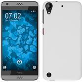 Hardcase for HTC Desire 530 rubberized white
