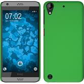 Hardcase for HTC Desire 630 rubberized green