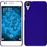 Hardcase for HTC Desire 825 rubberized blue