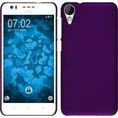 Hardcase for HTC Desire 825 rubberized purple