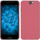 Hardcase for HTC One A9 rubberized pink