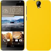 Hardcase for HTC One E9+ rubberized yellow