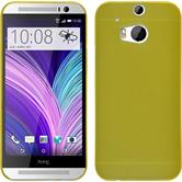 Hardcase for HTC One M8 Slimcase yellow