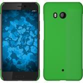 Hardcase U11 rubberized green + protective foils